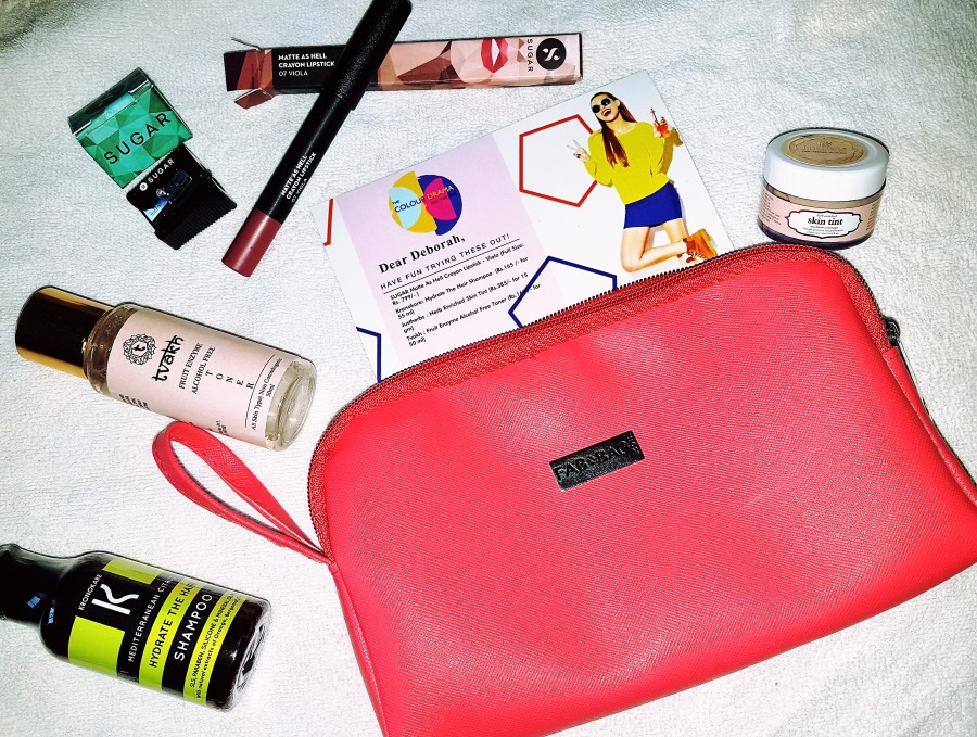 Subscription Review: The Colour Drama July 2017 Fab Bag