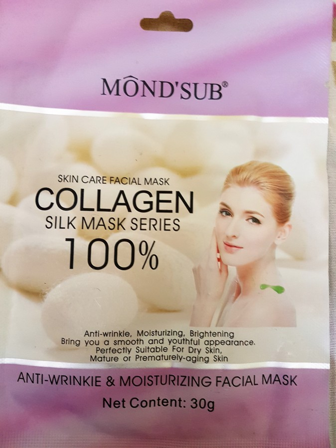 Product Review: Mond'Sub Collagen Silk Mask – Anti-Wrinkle and Moisturizing