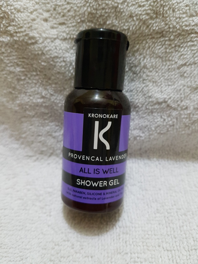 Product Review: Kronokare Provencal Lavender All is well Shower Gel