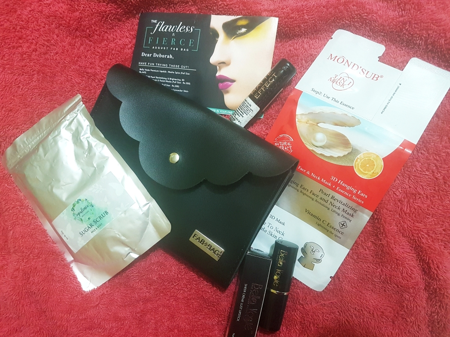 Subscription Review: The Flawless & Fierce August Fab Bag