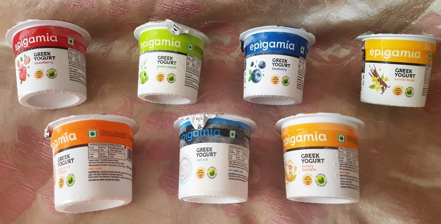 Food Review: Epigamia Greek Yogurt