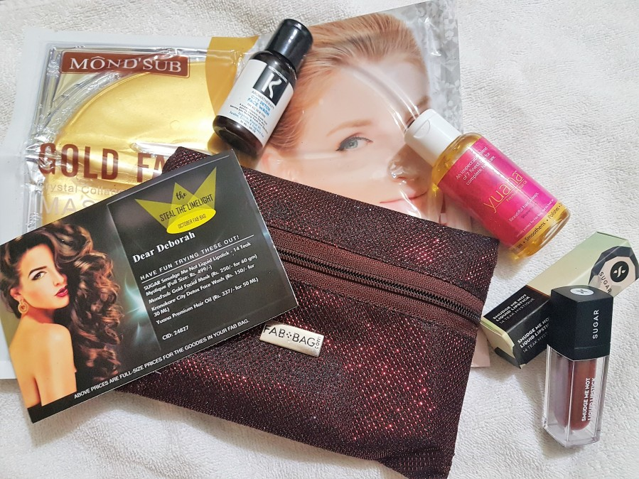 Subscription Review: The Steal the Limelight October Fab Bag