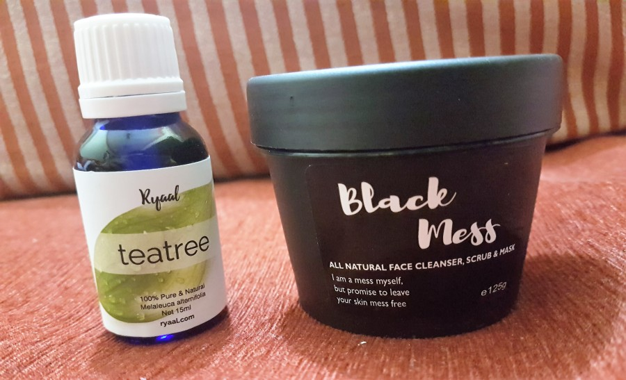 Product Review: Ryaal Black Mess & Ryaal 100% Tea Tree Oil