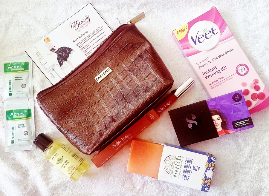 Subscription Review: The Beauty Blowout January FabBag