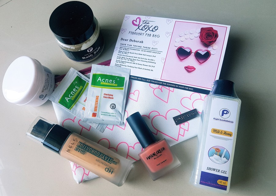 Subscription Review: The XOXO FebruaryFabBag