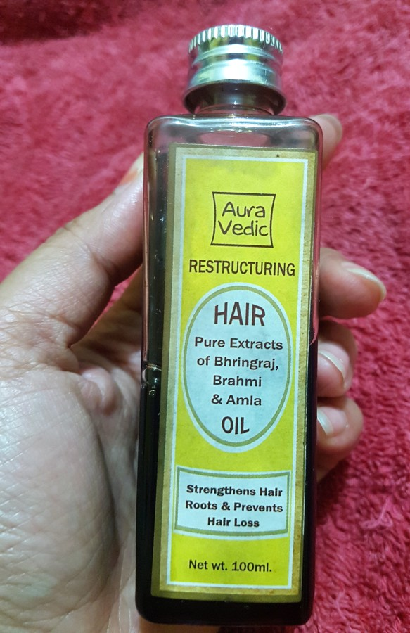 Product Review: Aura Vedic Restructuring HairOil