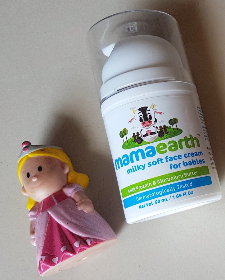 Product Review: mamaearth Milky Soft Face Cream