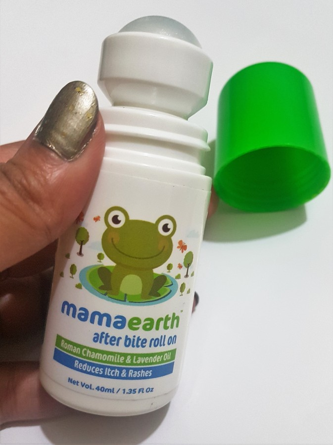 Product Review: mamaearth After Bite Roll on