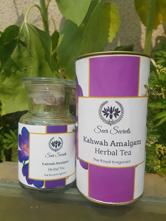 Beverage Review: Seer Secrets Kahwah Amalgam Herbal Tea – The Royal Invigorant