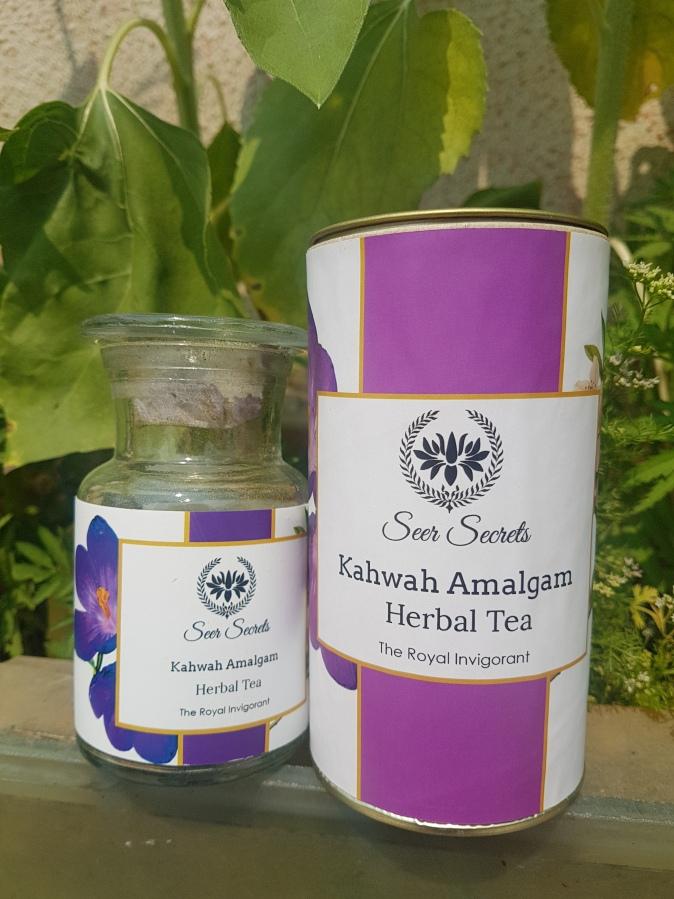 Beverage Review: Seer Secrets Kahwah Amalgam Herbal Tea – The RoyalInvigorant