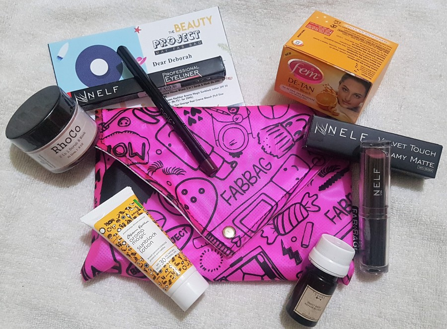 Subscription Review: The Beauty Project May Fab Bag