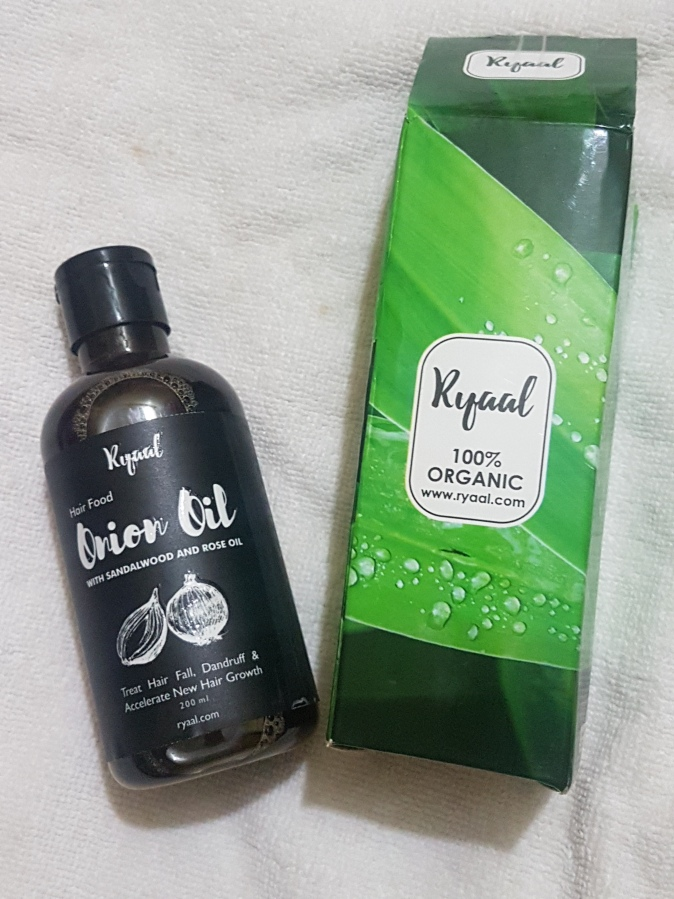 Product Review: Ryaal Hair Food Onion Oil