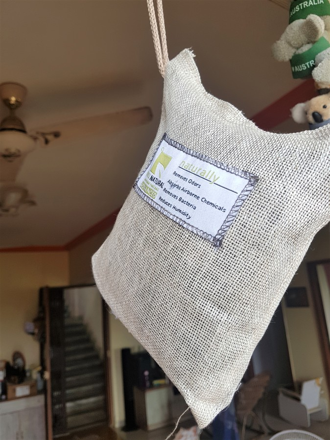 Product Review: Breathefresh's Vayu Natural Air Purifying Bag Advanced