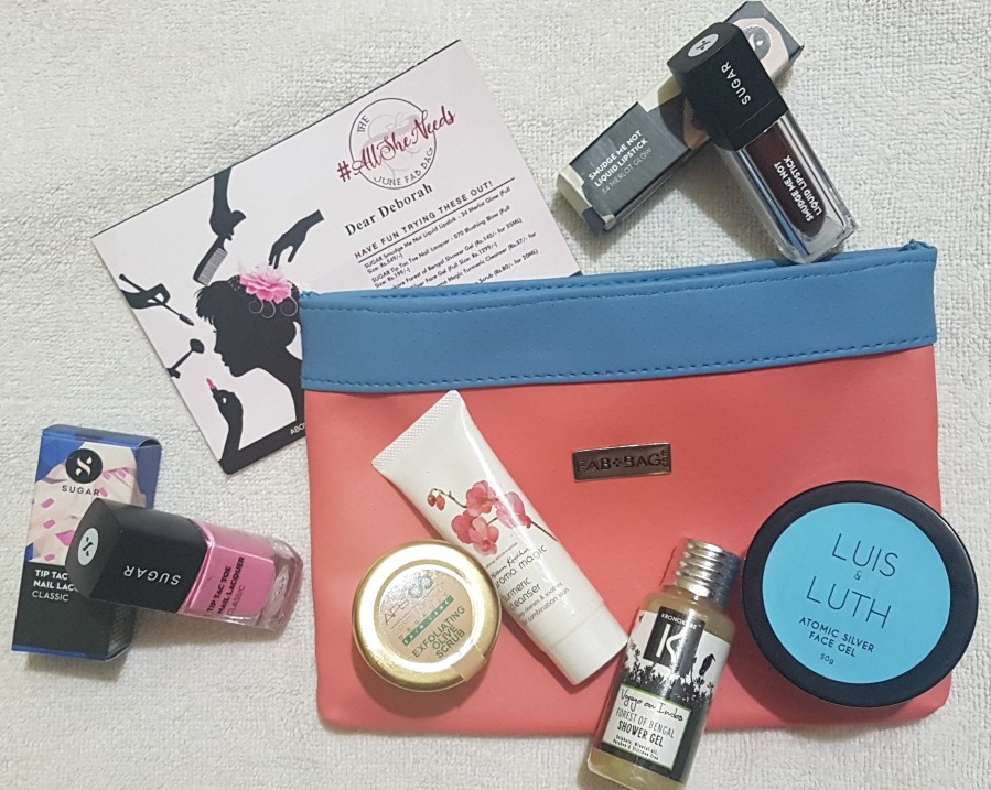 Subscription Review: The All She Needs June Fab Bag